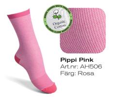 stödstrumpor rosa